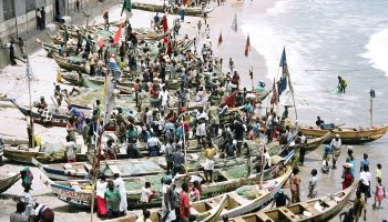 Illegal practices in Ghana's industrial fishing sector
