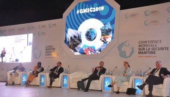 Presentation at Global Maritime Security Conference in Nigeria